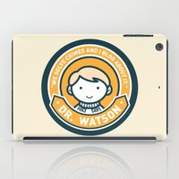 Cute John Watson - Orange iPad Case