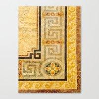Mosaic Floor Canvas Print