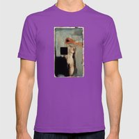 The Ailment Contract Mens Fitted Tee Ultraviolet SMALL