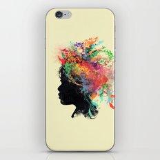 Wildchild (aged ver) iPhone & iPod Skin