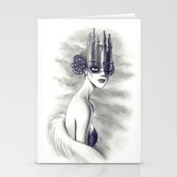 ONE EYED QUEEN VII Stationery Cards