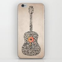 Guitar Notes iPhone & iPod Skin