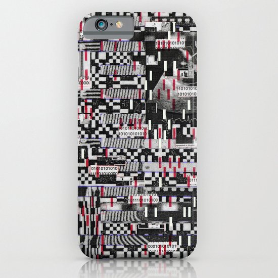 Comfortable Ambiguity (P/D3 Glitch Collage Studies) iPhone & iPod Case