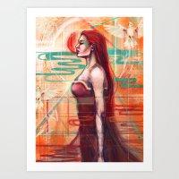 A.I Art Print