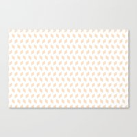 Rhombus Bomb In Linen Canvas Print