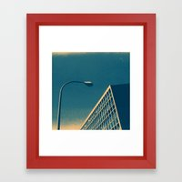 POP Architecture  Framed Art Print