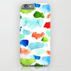 Watercolor Swatch Pattern iPhone 6 Slim Case