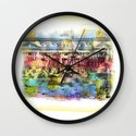 French Facade Wall Clock