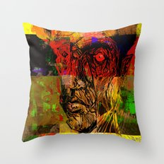 Surprised Throw Pillow