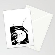 Pop 01 Close Black Stationery Cards