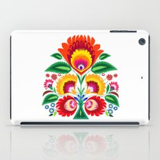 Folk flowers iPad Case