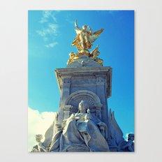 Victoria Memorial, London Canvas Print