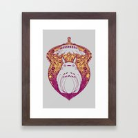 Forest Spirit Victoriana Framed Art Print