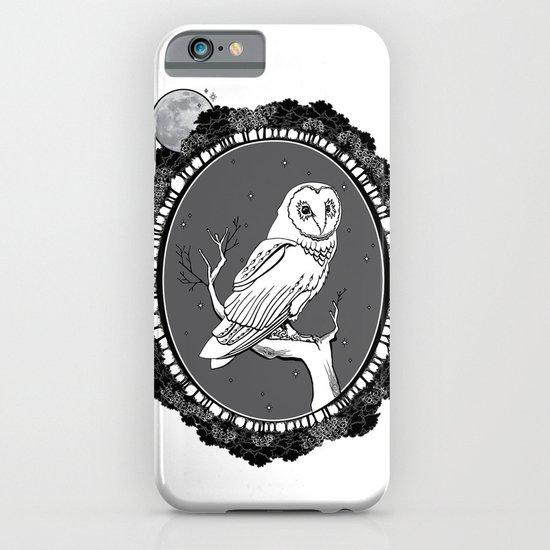 Night Owl Oval iPhone & iPod Case