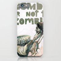 iPhone & iPod Case featuring Zombie + Shakespeare by Stephane Lauzon