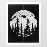 Forest Through the Trees Art Print