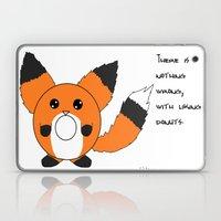 Donut fox  Laptop & iPad Skin