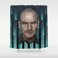 Braking Bad - The Archit… Shower Curtain
