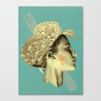 please don't leave me to remain Canvas Print