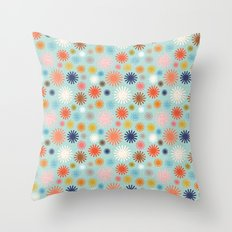 Flashbulbs Throw Pillow