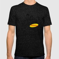 A Show About Nothing Mens Fitted Tee Tri-Black SMALL