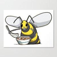 Miso Hornet Canvas Print