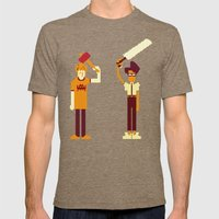 The IT Crowd: Masters of the ITverse! Mens Fitted Tee Tri-Coffee SMALL
