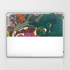 Alexis and the flowers Laptop & iPad Skin
