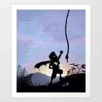 Super Kid Art Print
