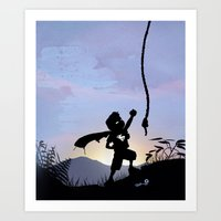 Super Kid Art Print