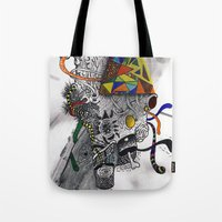 Psychoactive Bear 7 Tote Bag