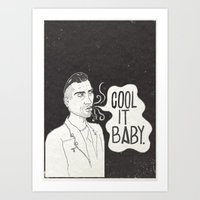 Cool It. Art Print
