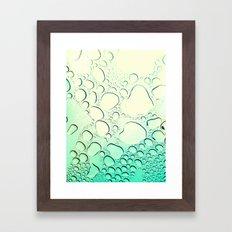 Raindrops? More like Rain Puddles Framed Art Print