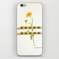 The Flower iPhone & iPod Skin