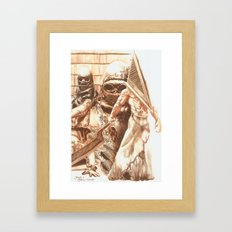Silent Hill b Framed Art Print
