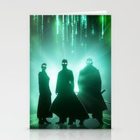 The Matrix Stationery Cards