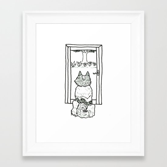 Paul at the Window Framed Art Print