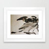 Ming's Dragon Framed Art Print