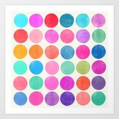 Colorplay 8 Art Print