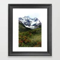 Torres Del Paine, Patago… Framed Art Print