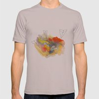 Sunplanes Mens Fitted Tee Cinder SMALL