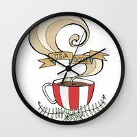Tea Love Wall Clock
