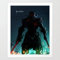 Dark Flare Art Print