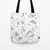 Refracted Diamond Tote Bag