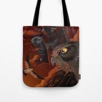 solar owls mars  Tote Bag