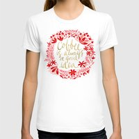 coffee T-shirts featuring Coffee by Cat Coquillette