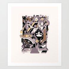 gotama Art Print