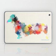 The Dachshund Mode Laptop & iPad Skin
