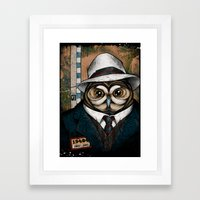 The Usual Suspects // Cr… Framed Art Print