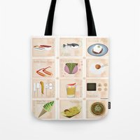 Japanese Food  Tote Bag